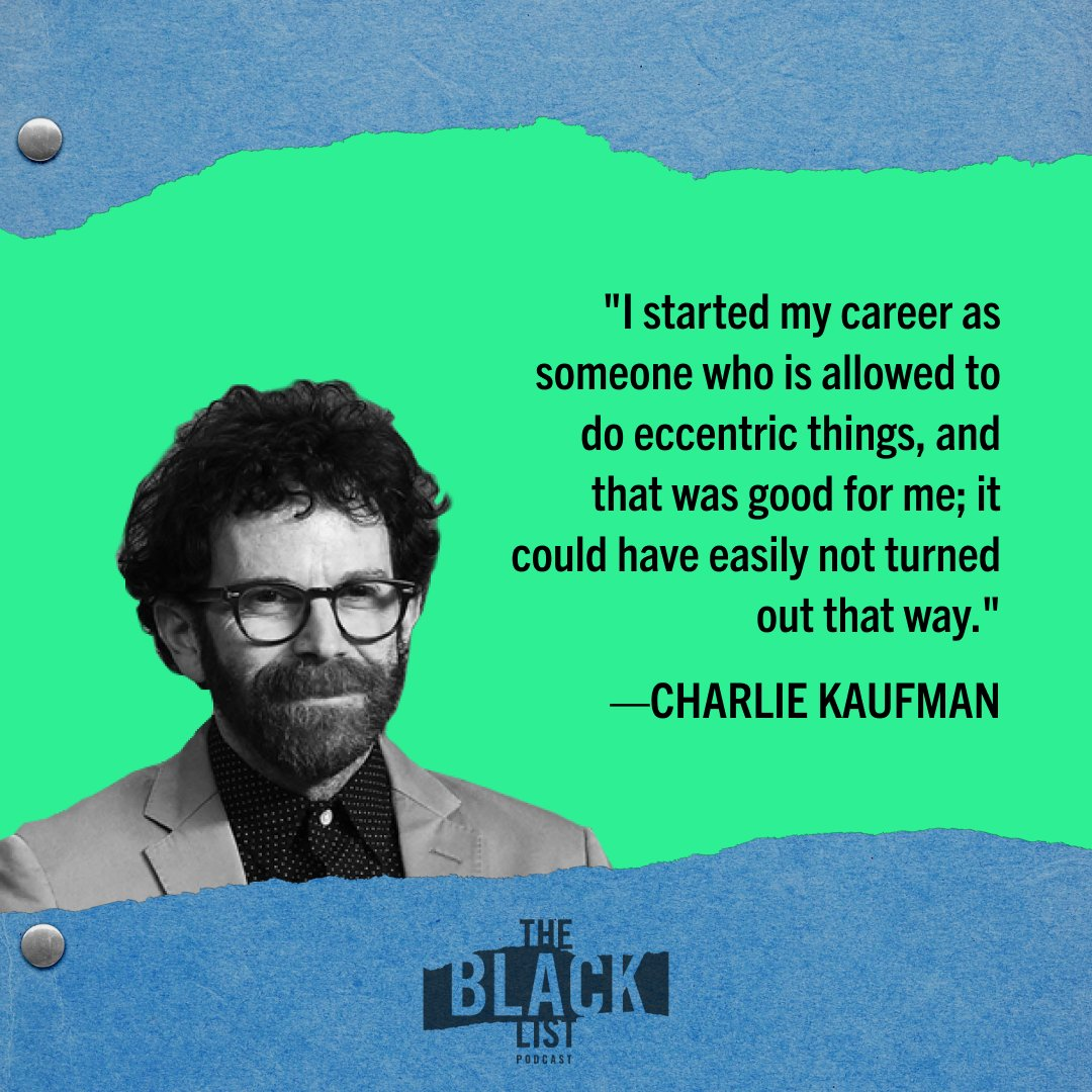The one and only Charlie Kaufman joins @franklinleonard + @thathagengrrl on The Black List Podcast! They discuss how BEING JOHN MALKOVICH changed everything, the legacy of ETERNAL SUNSHINE, I'M THINKING OF ENDING THINGS, and more!  Only on @hearluminary: