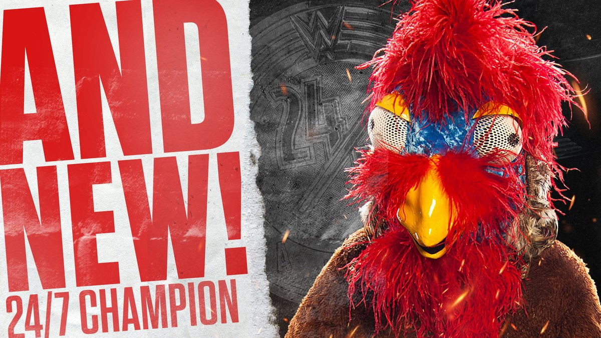 The Gobbledy Gooker Wins The WWE 24/7 Title at Survivor Series