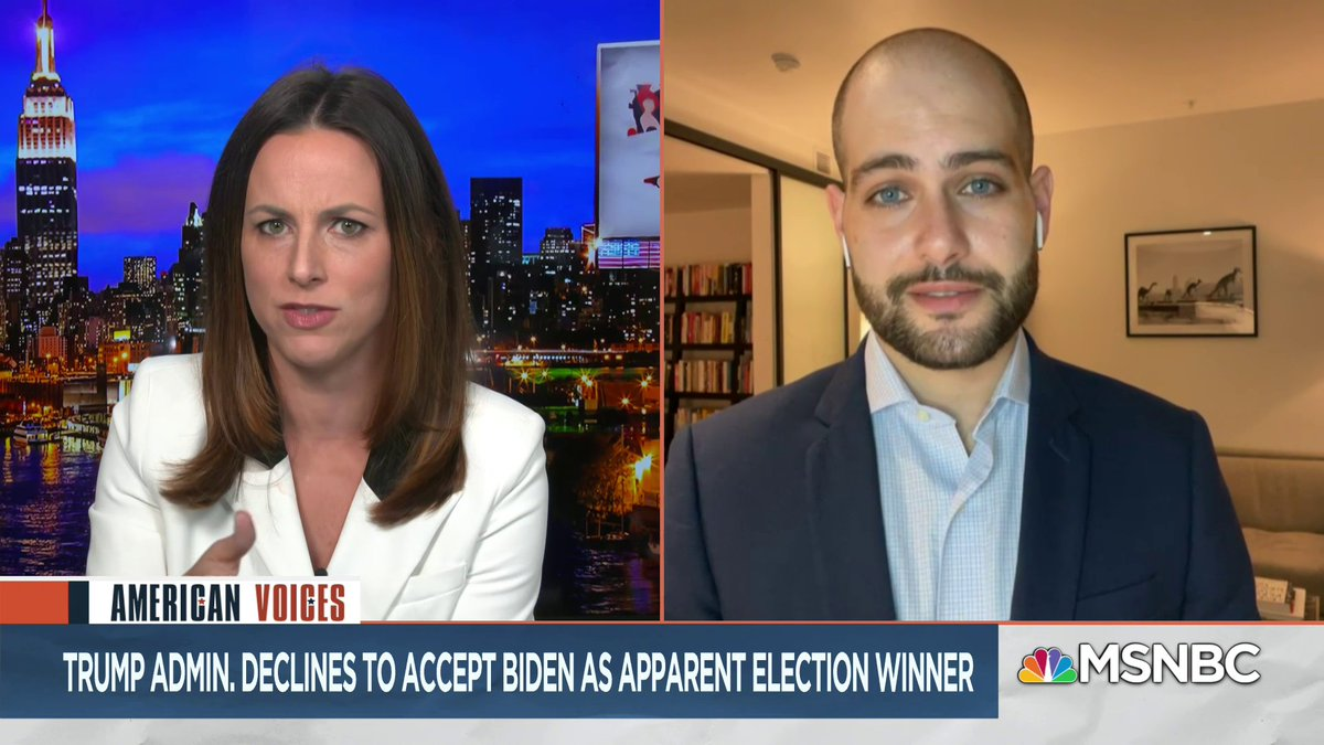With Trumps legal team now distancing themselves from Sidney Powell, @AliciaMenendez asks @gdebenedetti to make sense of their latest strategy. Gabe breaks it down for us, but he put it best when he said, the reality is that no one is really sure whats going on here.