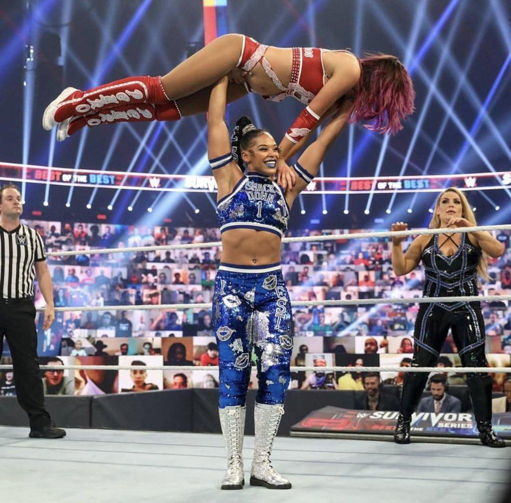 @BiancaBelairWWE's photo on Smackdown