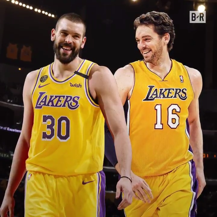 Marc Gasol is finalizing a deal to sign with the Lakers, per @wojespn, @ZachLowe_NBA  The Gasol legacy continues in LA  From B/R x @AmericanExpress