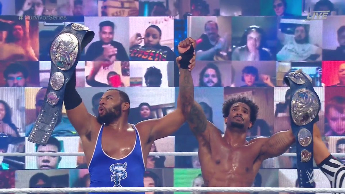 WWE Survivor Series: The New Day Vs. The Street Profits (RAW Vs. SmackDown)