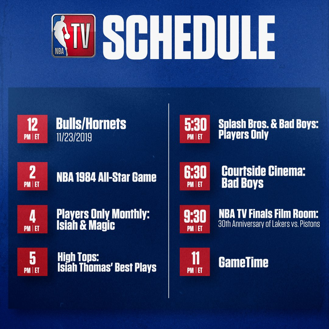 Don't miss out on any of the action on NBA TV! 🍿 https://t.co/KDMxVm8s00
