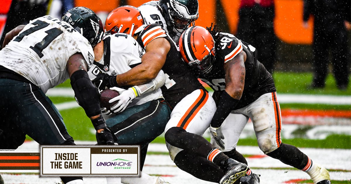 Olivier Vernon shines with Myles Garrett sidelined, leads Browns to dominant defensive display  📰 »