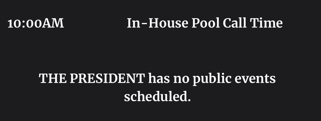 Trump is back to the grind on Monday