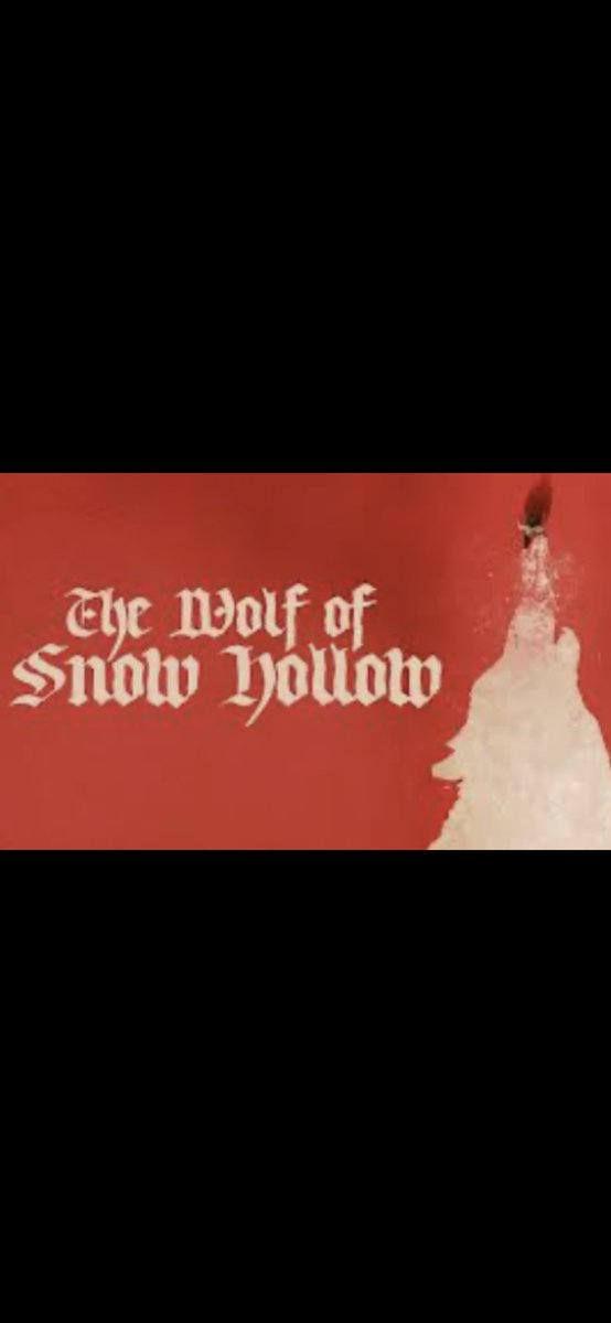 I am #NowWatching The Wolf Of Snow Hollow! Just rented it, I hope it's good!