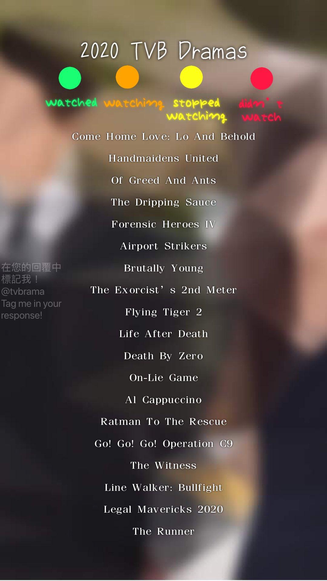 ˏˋ TVB Dramas ˎˊ˗ on Twitter