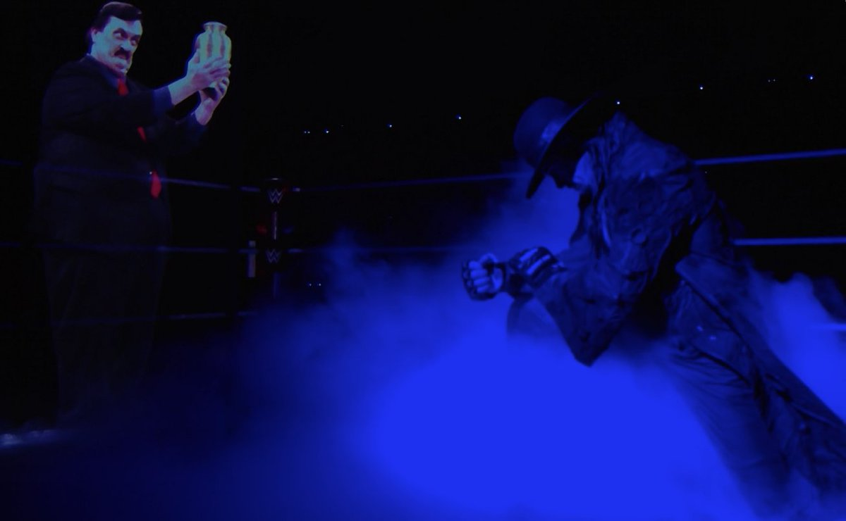 This really moved me. Rest in Peace Paul and Rest in Peace Undertaker. #FarewellTaker #SurvivorSeries