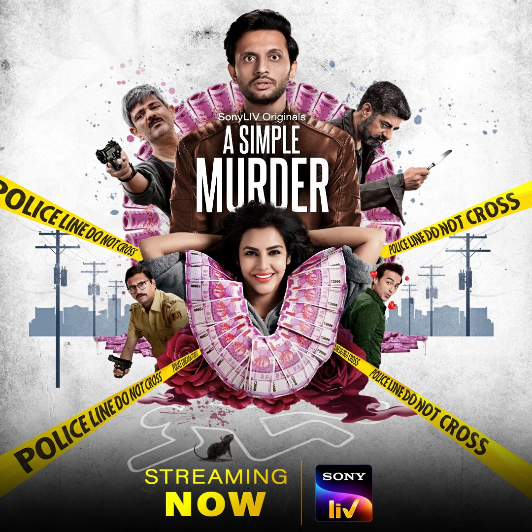 Really enjoyed #ASimpleMurder. A delicious dark comedy with some really quirky characters. Quite gutsy of @PriyaAnand to play what's easily the most toxic character she's ever essayed, and she nails it. @SonyLIV continues to impress with its choice of shows 👌