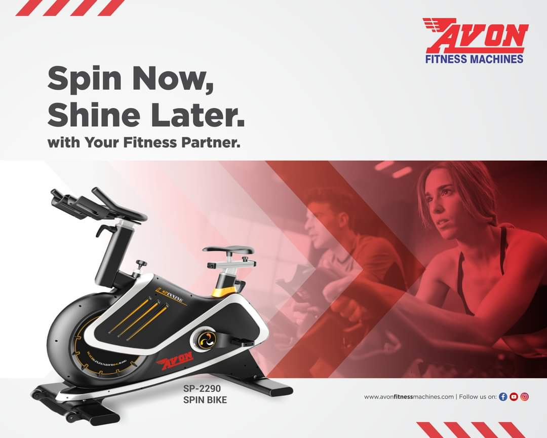 Every calorie burnt today will shape a better you tomorrow.  Get your Avon Fitness Machine today!  #AVON #Fitness #Gym #Workout #FitnessMachines #Treadmill #Cardio #GymEquipment #Dussehra #Health #Diet #CrossTrainer #UprightBike #Bikes #Cycles #SpinBike #MultiGym #Benches https://t.co/F1QM9dsYqt