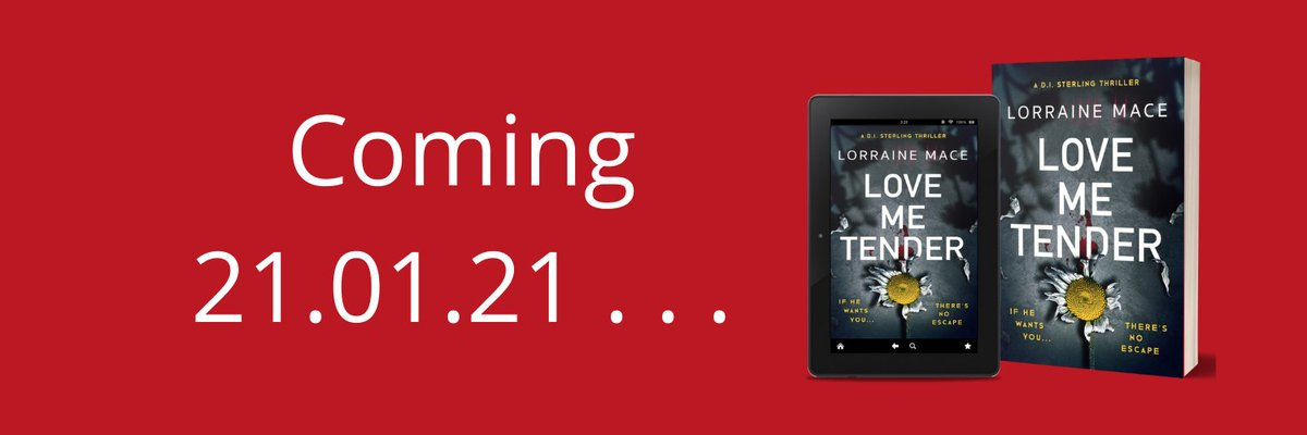LOVE ME TENDER, book 5 in the D.I. Sterling series published by Headline Accent Available to pre-order: smarturl.it/LoveMeTender_LM #CrimeFiction #readerscommunity @The_CWA @CrimeReaders @AccentPress