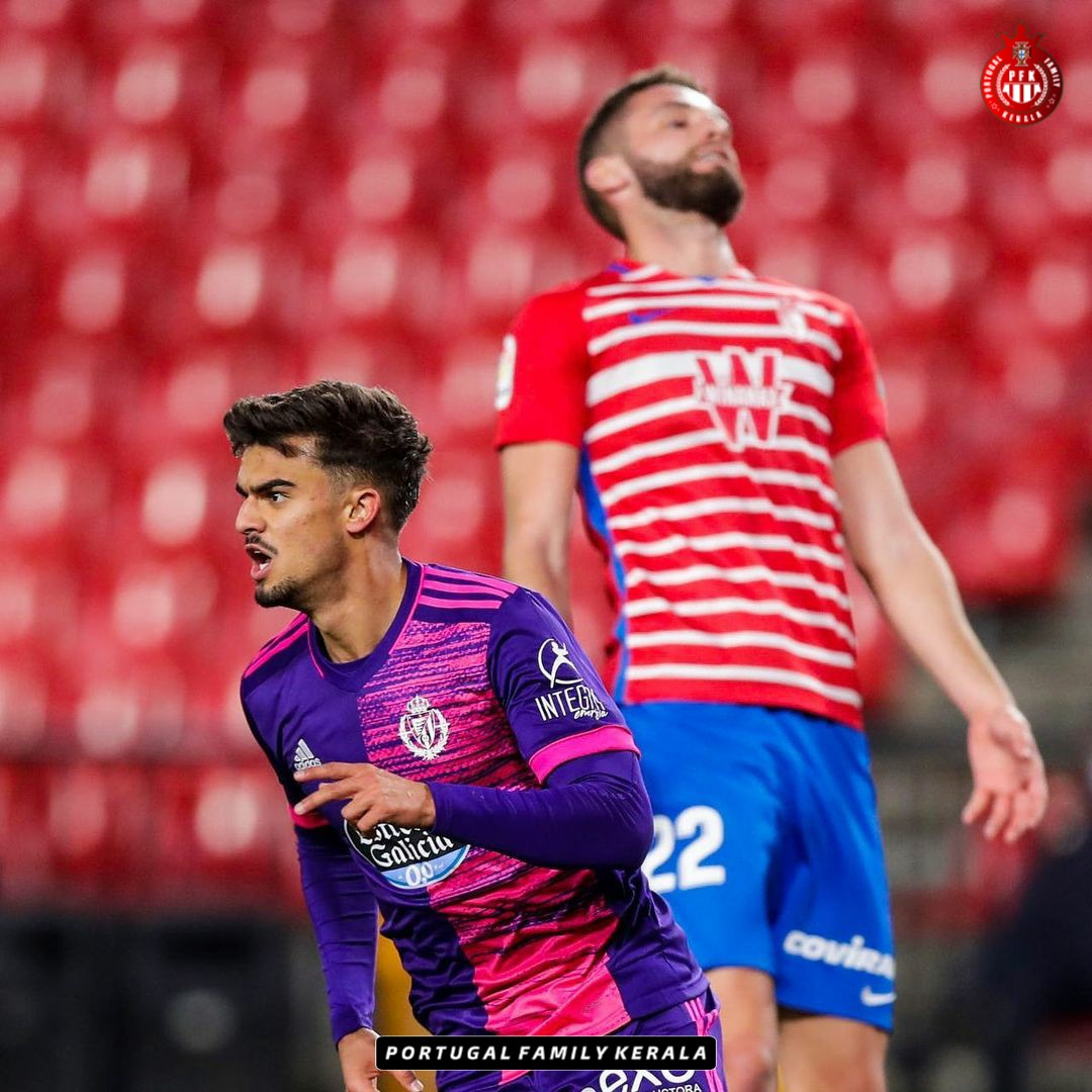 Joao Filipe took just 13 minutes to score in his La Liga debut for Real Valladolid!  ⏱️ 77' - Came on as a substitute ⏱️ 90' - Debut goal  🇵🇹 Jota vs. Granada  🔰 Minutes played - 13' 🔰 Goals scored - 1 🔰 Shots on target - 1 🔰 Pass accuracy - 83%  A debut to remember. 🌟 https://t.co/pOKD8gzmre