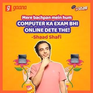Bachhon ke online exams dekh kar apne extra supplement wale paper 📝ke din yaad kar lo with @shaad17 on #JokeVani.   #Eat5StarDoNothing #DoNothing #Cadbury5Star @Cadbury5Star
