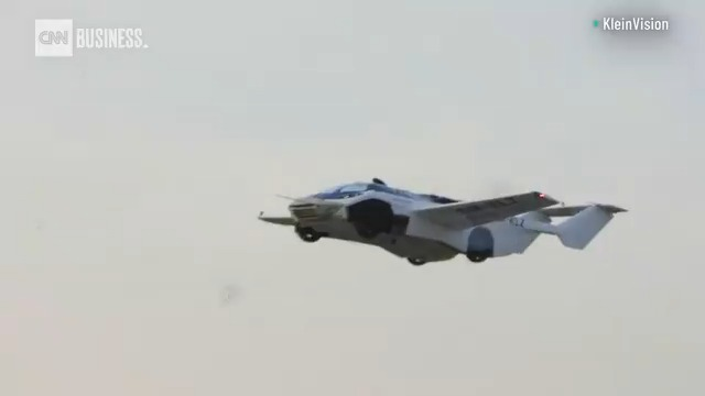 Watch this prototype flying car complete its first flight