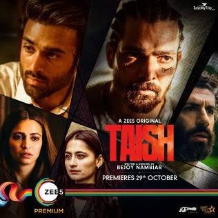 Really enjoyed watching #Taish on @ZEE5India ... @nambiarbejoy In top form ✊🏽 Congratulations @PulkitSamrat , @jimSarbh , @kriti_official & @ratheeofficial ..you guys were so good in it ❤️ & Mr.Rane @harsha_actor ..proud of you as always bhai 😘 Go check it out guys 🤟🏽