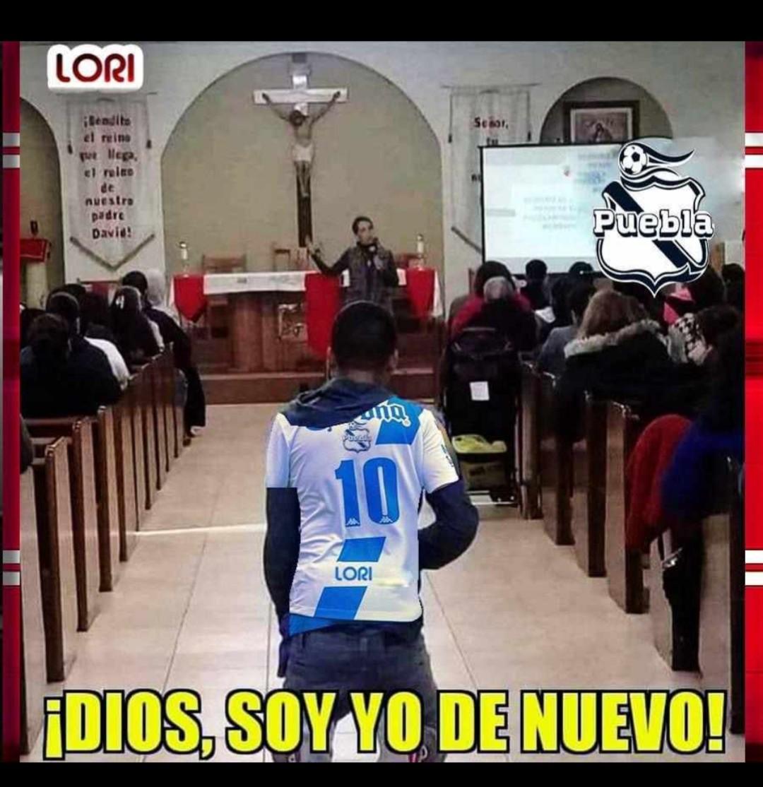 Así empezó el juego de hoy #Puebla Vs #Monterrey https://t.co/xS9TJbIoSs