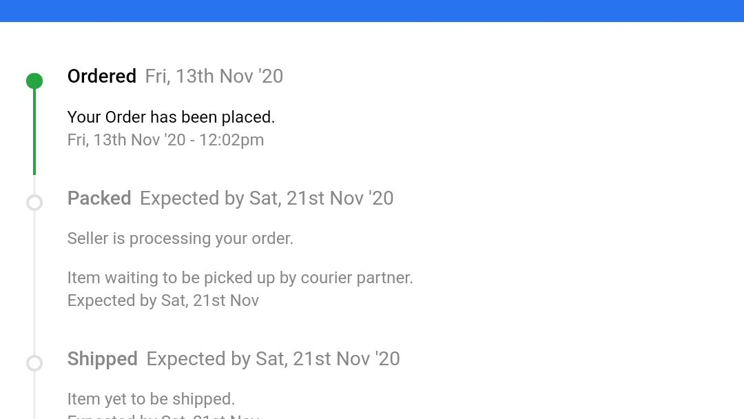 @Flipkart If you are taking 10 days to pack my order, an FYI, i don't need layers and layers of gift wrap, I'd be happier if my order reaches me on time. #Flipkart