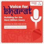 Image for the Tweet beginning: The latest episode of #VoiceTalksIndia