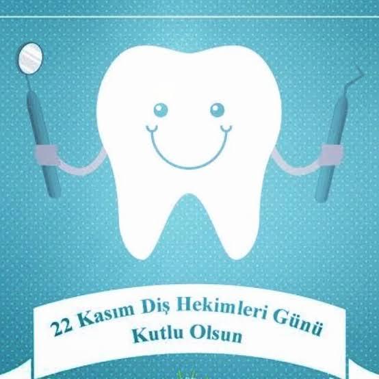 22 Kasım, Dünya Diş Hekimleri Günü. Salgın döneminde risk alma pahasına hastalarıyla yakından ilgilenmeye devam eden, birçoğu yanımızda olan diş hekimlerimizi kutluyoruz. Fedakârlıkları için de kendilerine şükran borçluyuz. https://t.co/bKGMRBheaM