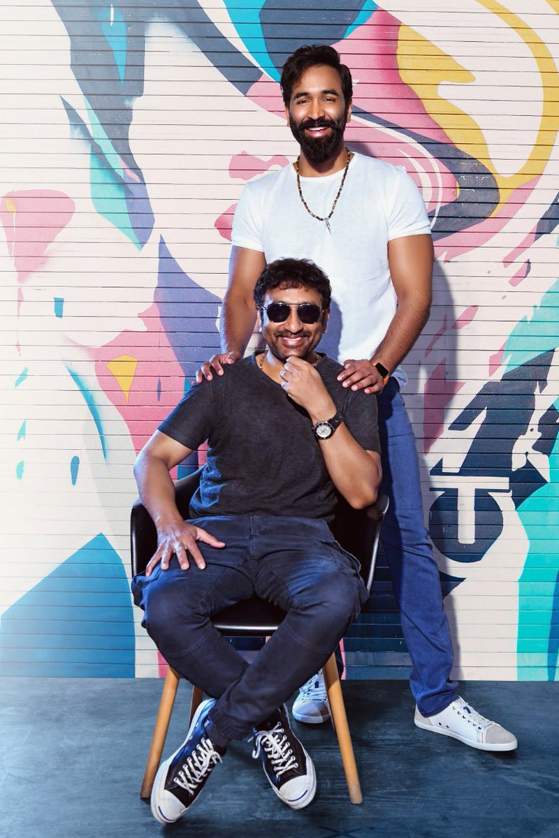 #HappyBirthdayVishnuManchu! So glad to hear that you're working with director @SreenuVaitla again after 13 years for #DandD: #doubledose!!!  #SidK @iVishnuManchu #HBDVishnuManchu
