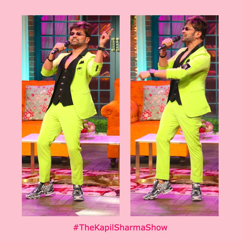 Holding our own personal concert this entire #lockdown! #LockdownFridays #HimeshReshamiya #TheKapilSharmaShow #WeAreBanijay