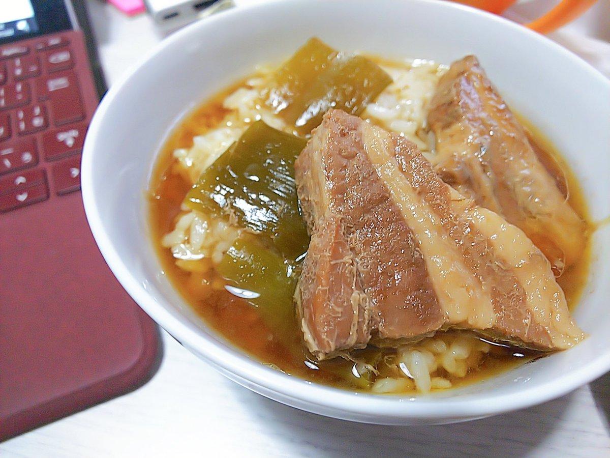 【今日のはねおやつ】〇「夜ご飯用のはずだった豚角煮まんま」#hannegohanそう、このレシピがほんまにほんまに美味しいのでシェアするって昨日言ったので!!
