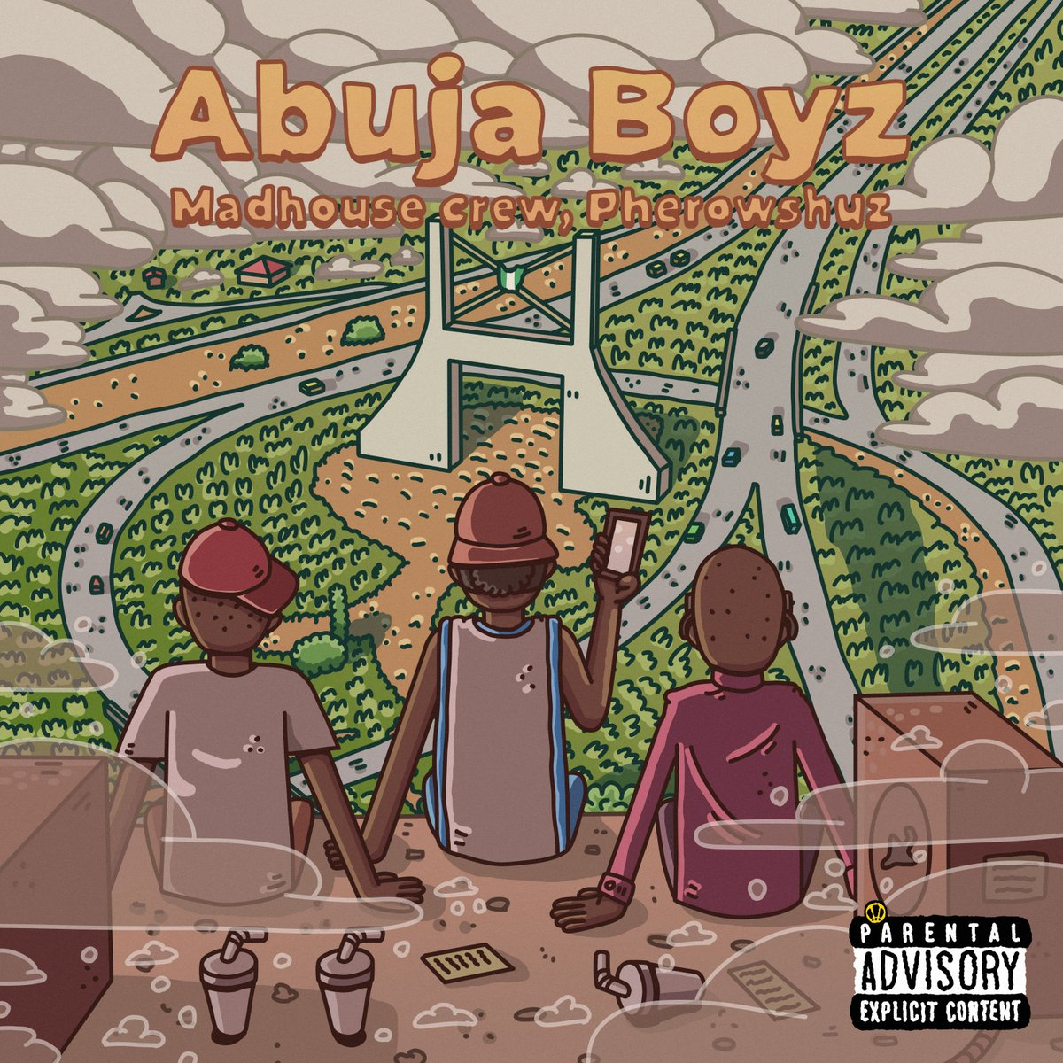 #Np Abuja Boyz @ourmadhouseng ft. @Iampherow  #GoodMorningNigeriaShow with @UsoroEdima #Edima   #MondayMotivation #BeSafe  #EspressoDay  #CashewDay   Listen live: https://t.co/APoEkCjqwo https://t.co/0BSLkWcZs8