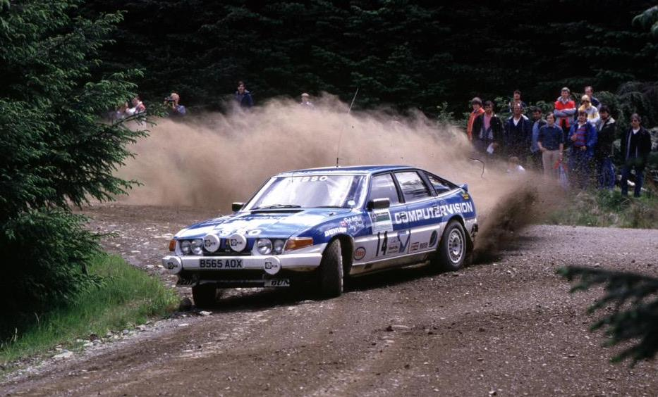 I rarely post tweets about rallying, but the late Tony Pond would have turned 75 today, & he rallied one of my favourite British cars of the '70s & '80s, the Rover SD1 Vitesse, so here's Pond giving an SD1 Vitesse the beans en route to 5th on the '85 #ScottishRally. #RIP (1/3) https://t.co/hwKtw5cLhR