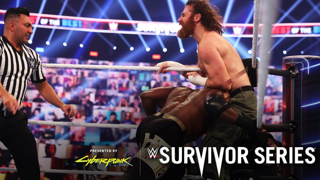 Business was good for #USChampion @fightbobby, as he defeated #ICChampion @SamiZayn at #SurvivorSeries.  https://t.co/5xzy5BEGhE https://t.co/PZvgGQgJH7