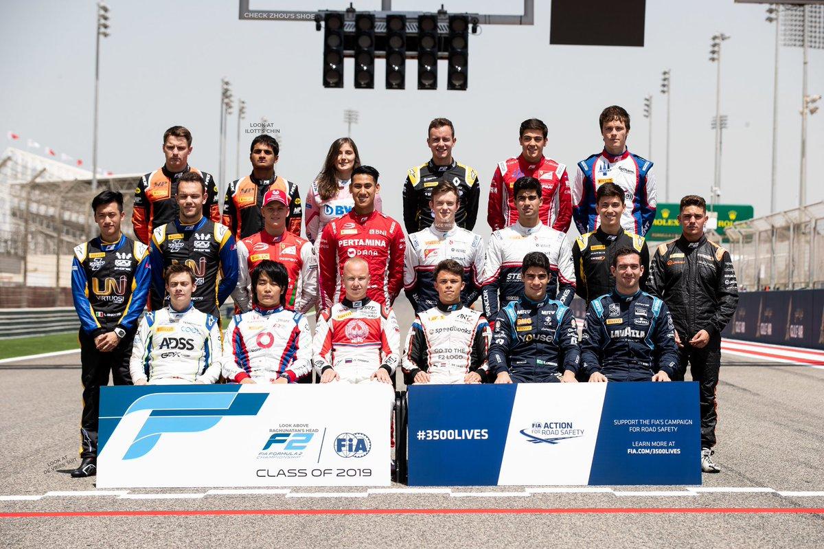 Look at the start lights 🚦 #F2 #F1 #RoadToF1 #BahrainGP https://t.co/xXsPJ2ROMZ