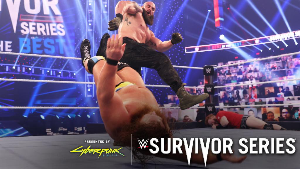 Teamwork makes the dream work, and it did for #TeamRaw at #SurvivorSeries!   https://t.co/L754caHMnl https://t.co/r0Yv4U2aOf