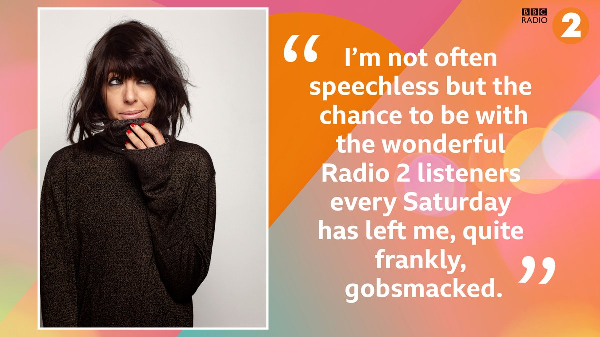 Claudia Winkleman will be the new host of Radio 2's Saturday morning show (10am-1pm) from February 2021 💫