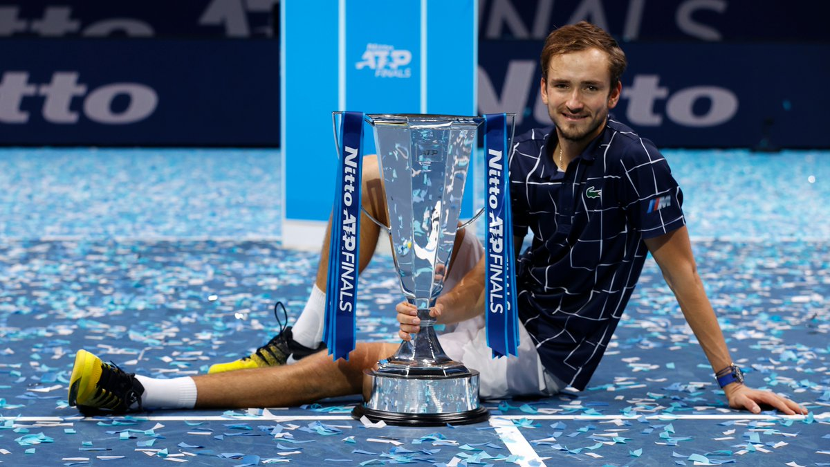 Waking up as a #NittoATPFinals champion 🏆  @DaniilMedwed 👏 https://t.co/LV5b8H2mUW