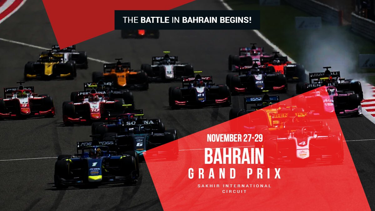 𝙄𝙩'𝙨 𝙗𝙚𝙚𝙣 84 𝙮𝙚𝙖𝙧𝙨... 👴  But... IT'S RACE WEEK!!!!! 🗣  Who's ready for some F2 action again? 🙌🏻 #F2 #F1 #RoadToF1 #BahrainGP https://t.co/3TNF7shfgV