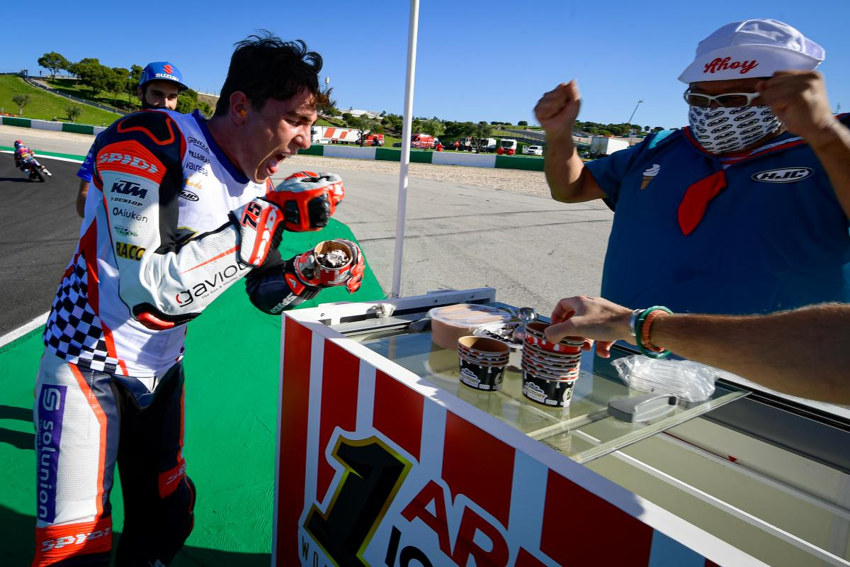 Social media reacts to Moto2™, Moto3™ title winners: See how social media reacted to Enea Bastianini and Albert Arenas claiming the two remaining World Championship crowns in Portimao https://t.co/JlPeXEJnup https://t.co/uM9ZbRo14h