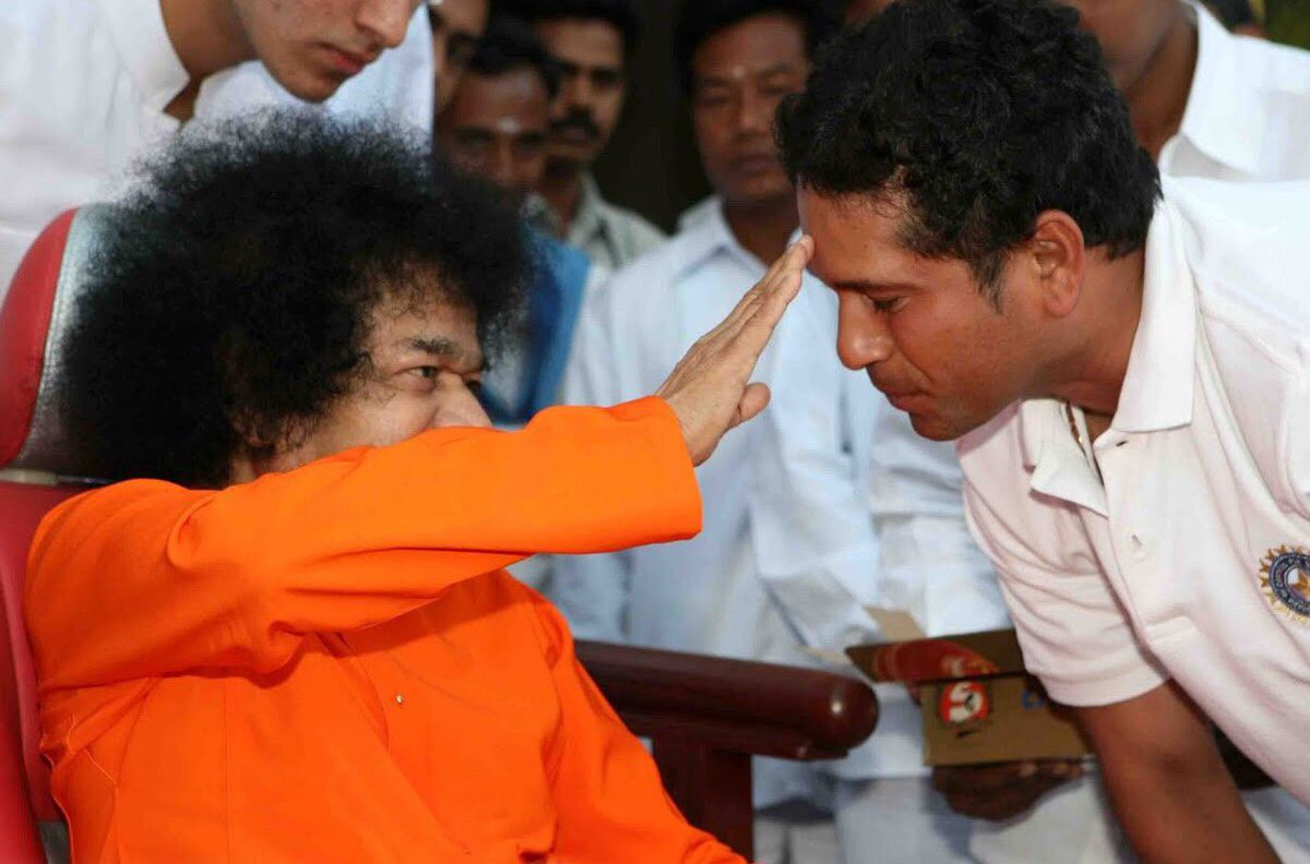 Remembering Sri Sathya Sai Baba on his 95th birth anniversary.  His work towards the underprivileged, and philosophy about life in general, are worth emulating.