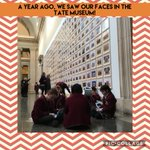 One year ago, we visited the @Tate to see our faces on their walls as we took part in the #stevemcqueen exhibition. We can't wait to be able to visit museums again. In the meantime, #staysafe