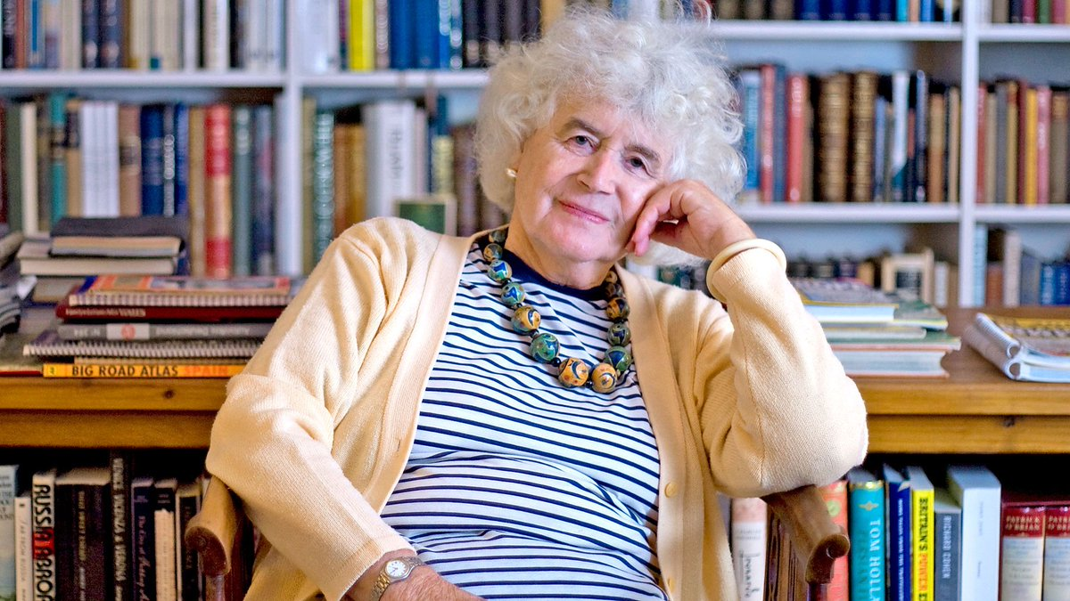 Travel writer, journalist and historian Jan Morris died on Friday.  In this programme, from 2013, she looked back on her adventurous life and forward to her death.  https://t.co/ra9OTaIQnN https://t.co/JXZ5NxONwE
