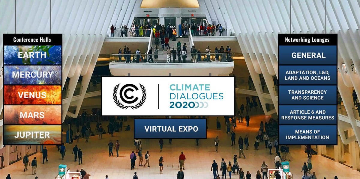 Register now to obtain access to the smart new UNFCCC #ClimateDialogues virtual space.