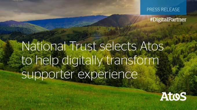 We are proud to announce a partnership with @nationaltrust to digitally reconfigure its...