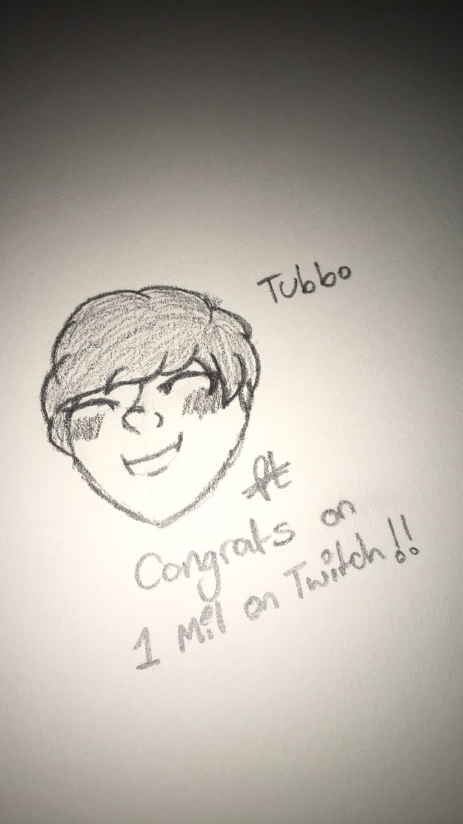Congrats on @TubboLive for 1mil on Twitch :) #mingledraws #mingleart #tubbo #tubbofanart #TUBBO1MIL