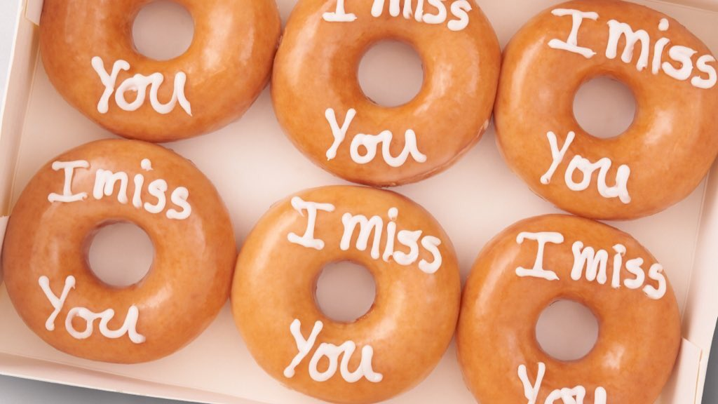 Say it with Krispy Kreme, make their day 🤗  Tap link in bio to place an order 🍩 https://t.co/lA2rZKj7to