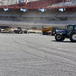 Image for the Tweet beginning: Gravel layer underway at the