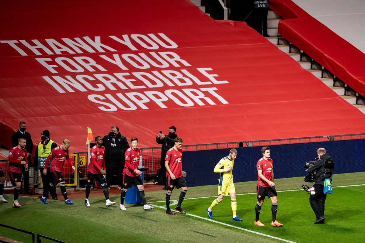 🗣️ オーレ「グループについては把握しているし、勝ち上がるには少なくとも勝ち点10が必要だ」  「今回の試合ではトライし、良いパフォーマンスとともに勝ちにいく」  #MUFC #UCL