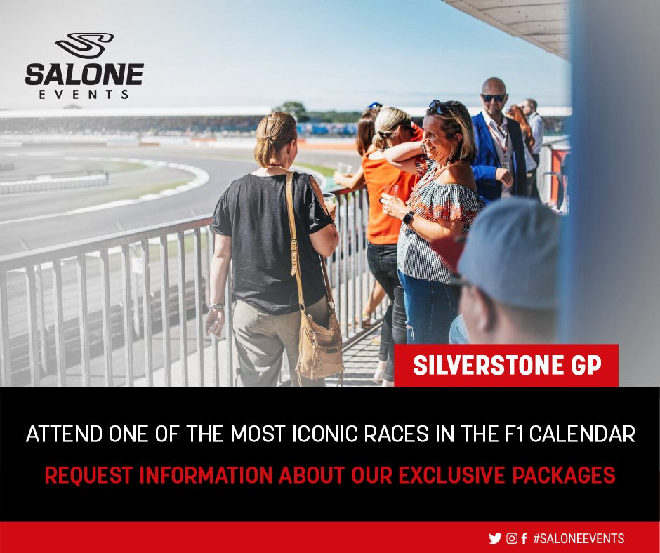Experience the electric atmosphere of the British Grand Prix. Exclusive packages available for celebrations or corporate events. We create full, immersive and bespoke itineraries. Enquiries: https://t.co/9pt55Bf6Ah #BritishGP #F1 #racing #corporateevents2021 https://t.co/sguiOM6U9P