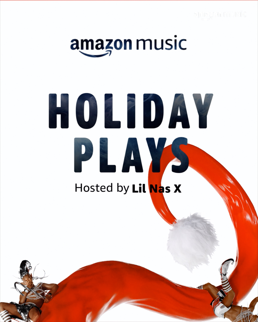 Mark your calendar for December 15th, 8pm ET and tune in then to see Foos play the closing night of @AmazonMusic #HolidayPlays. ☃️ Hosted by @LilNasX 🎅  Add to your watch list here: