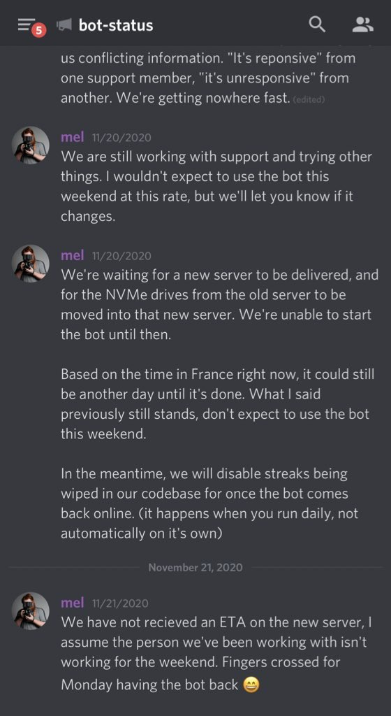 Dank Memer Discord Bot On Twitter If Y All Want More Constant Updates In The Future It S Faster To Check Out The Support Server Https T Co Nrd5lmowcz Https T Co Hg8cmae7dj