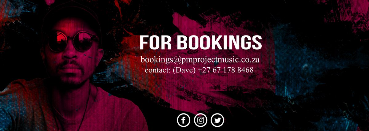 RT @PM_Project: f o r  b o o k i n g s  #deephouse #afrohouse #soulfulhouse https://t.co/d0n12VnItx
