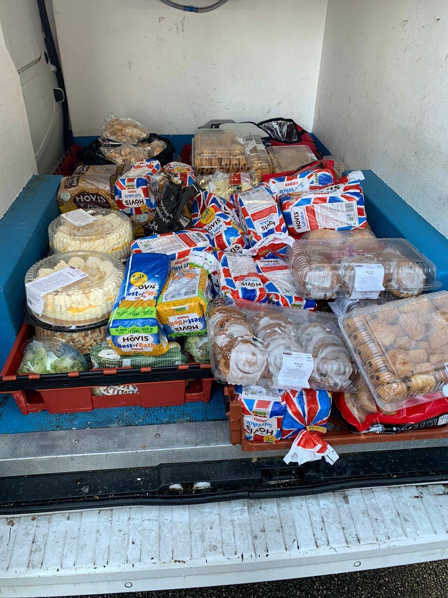 Yesterday's food donation to the @LiverpoolYMCA #SundayMotivation #foodbanks #SocEnt