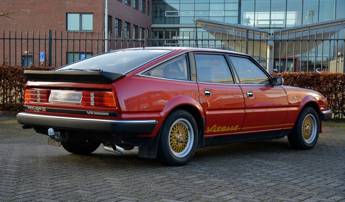 The Rover SD1 Vitesse was & remains a handsome road car. I've always fancied one, but I've never owned one, put off if I'm honest by horror stories of dreadful British Leyland build quality. One day maybe... (3/3) https://t.co/SjtIeuUgmS